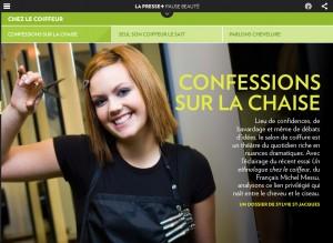 Confessions sur la chaise | La Presse +
