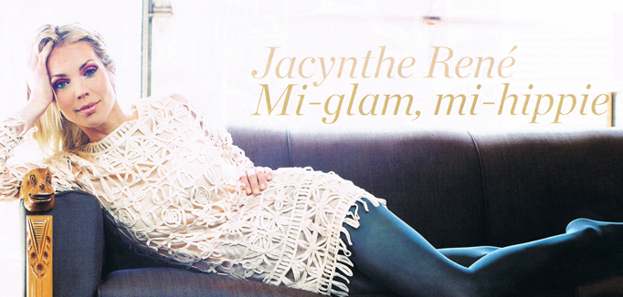Jacynthe René dans le magazine 7 jours du 3 mai 2013