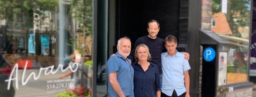L'équipe d'Alvaro Coiffure est heureuse d'accueillir dans son équipe la coloriste Marise Caron et le coiffeur Olivier Hamelin.